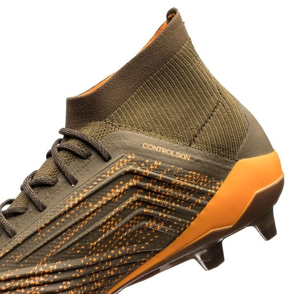 finest selection 01639 9851f ... real coral  adidas predator 18.1 fg ag lone hunter trace olive core  black bright