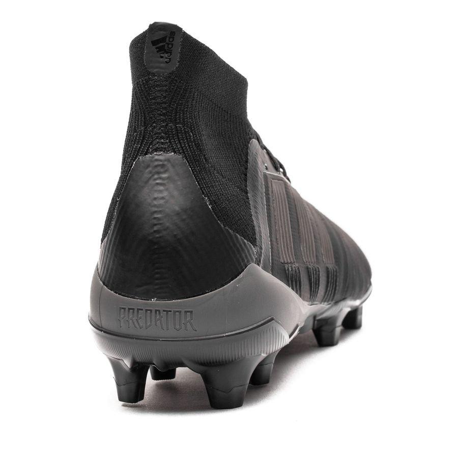 adidas Predator 18.1 FGAG Nite Crawler SortRød