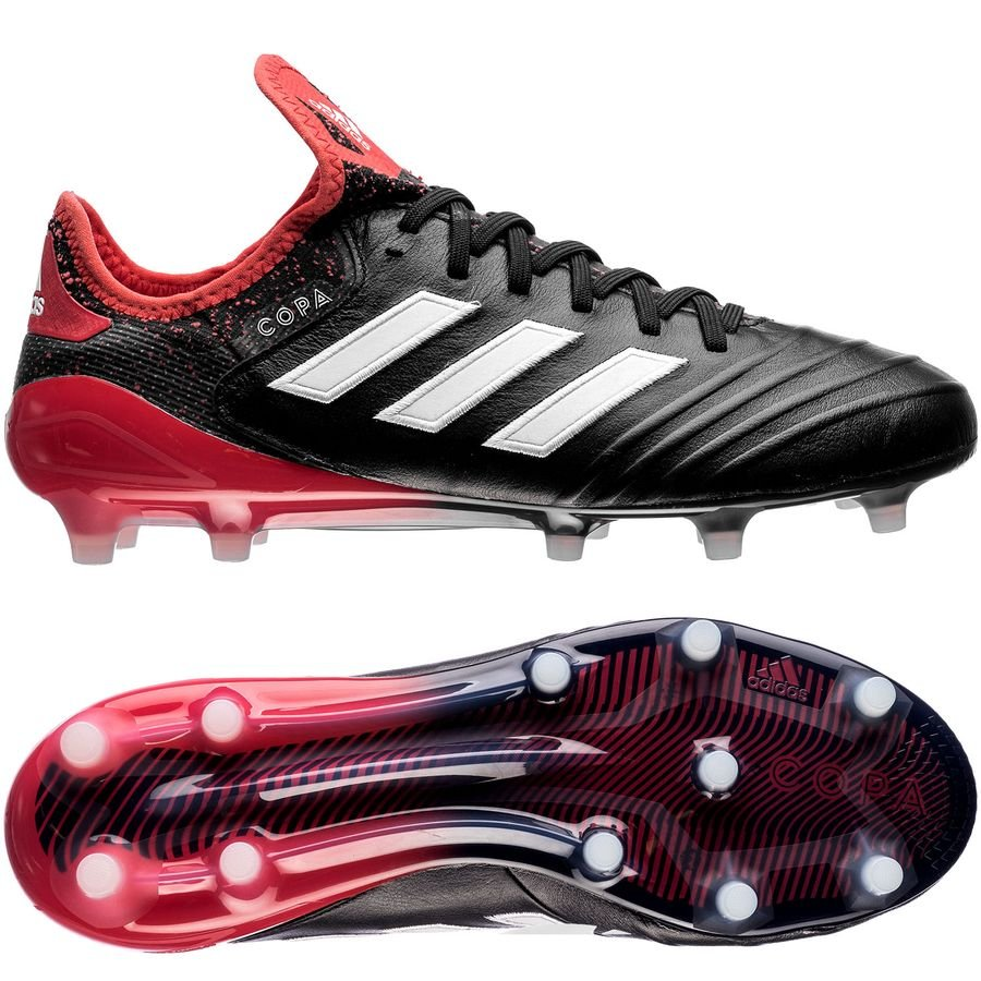 adidas Copa 18.1 FG/AG Cold Blooded - Core Black/Footwear White/Real Coral