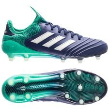 adidas copa 18.1 fg/ag deadly strike - unity ink/aero green/hi-res green - football boots