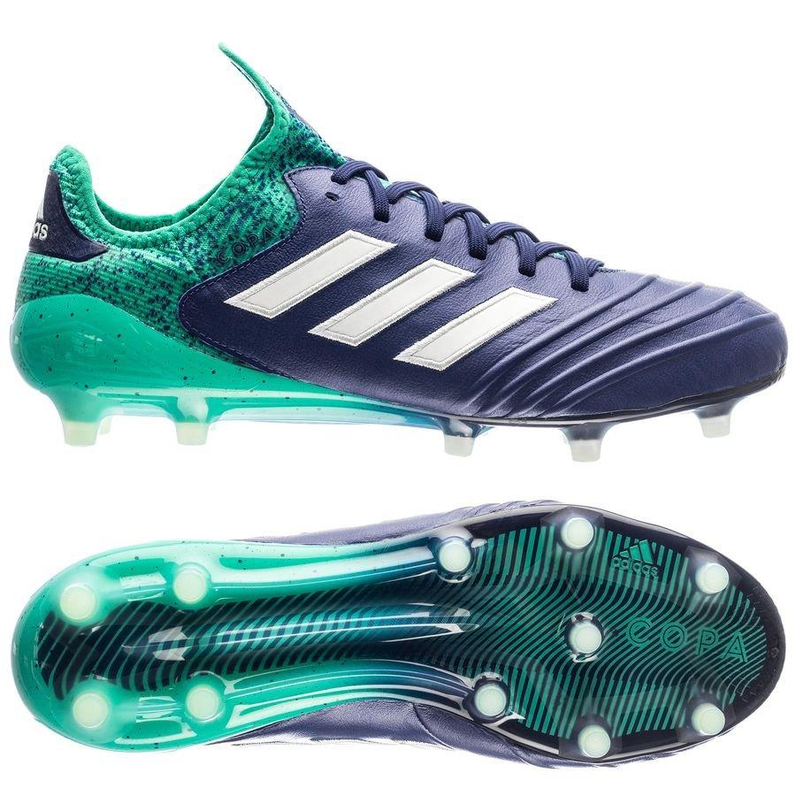 Adidas Copa 18,2 Fg / Ag Grève Mortelle - Bleu / Vert / Vert