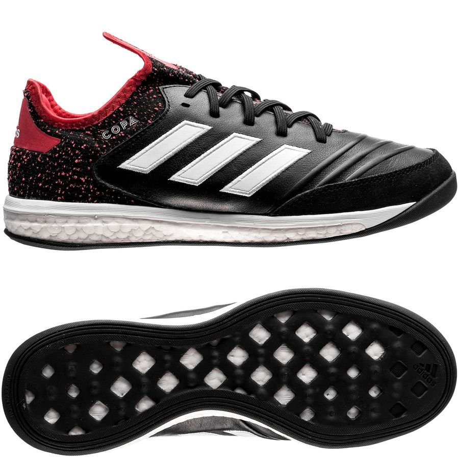 adidas copa tango 18.1 trainer cold blooded - core black footwear white real  coral ... 5efbb23d6