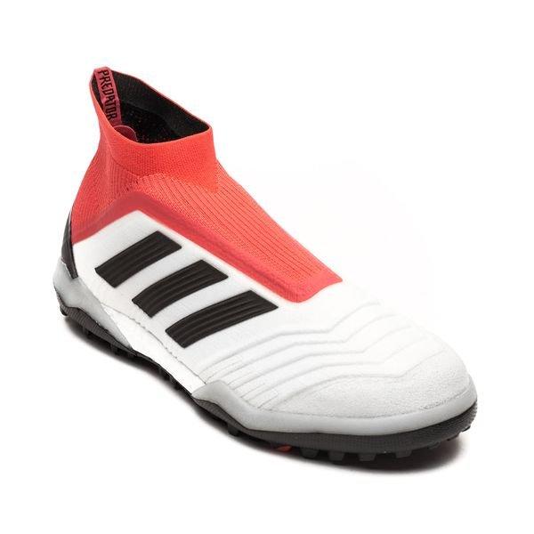 Adidas Tango Prédateur 18+ Sang Froid Tf - Enfants Blanc / Noir / Rouge VLrcSX
