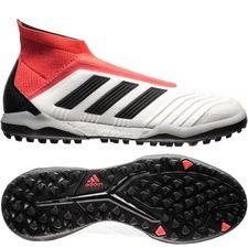 adidas Predator Tango 18+ TF Cold Blooded - Wit/Zwart/Rood