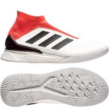 adidas Predator Tango 18+ Boost Trainer Cold Blooded - Weiß/Schwarz/Rot LIMITED EDITION