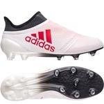 adidas X 17+ FG/AG Cold Blooded - Valkoinen/Punainen/Musta
