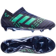 adidas nemeziz messi 17+ fg/ag deadly strike - unity ink/hi-res green/core black - football boots