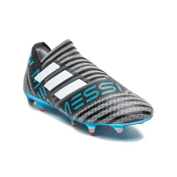Adidas Messi Nemeziz 17+ Fg / Ag Sang Froid - Gris / Blanc / Noir eq9QN