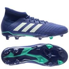 adidas predator 18.1 fg/ag deadly strike - unity ink/aero green/hi-res green kids - football boots