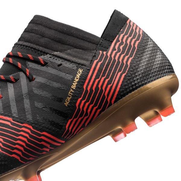 Adidas Nemeziz 17,1 Fg / Ag Skystalker - Enfants Noir / Rouge