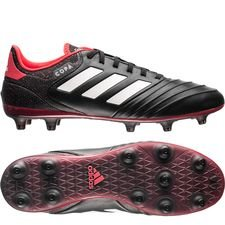adidas Copa 18.2 FG/AG Cold Blooded - Zwart/Wit/Rood