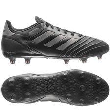 adidas copa 18.2 fg/ag nite crawler - core black/utility black - football boots