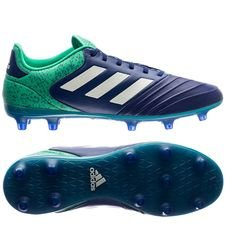 adidas copa 18.2 fg/ag deadly strike - unity ink/aero green/hi-res green - football boots