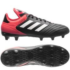 adidas Copa 18.3 FG/AG Cold Blooded - Zwart/Wit/Rood