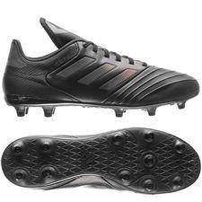 adidas copa 18.3 fg/ag nite crawler - sort/grå - fodboldstøvler