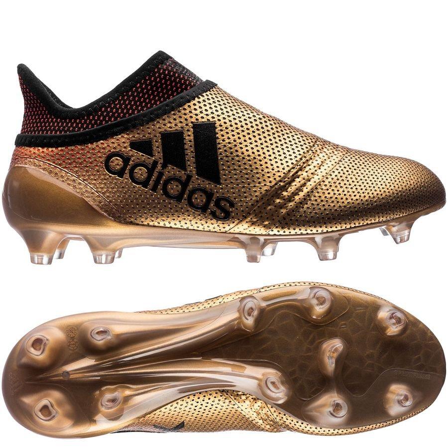 a69a7979679b adidas X 17+ FG/AG Skystalker - Tactile Gold Metallic/Core Black/Solar Red  Kids | www.unisportstore.com