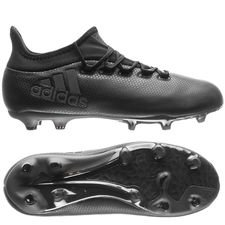 adidas x 17.1 fg/ag nite crawler - core black kids - football boots