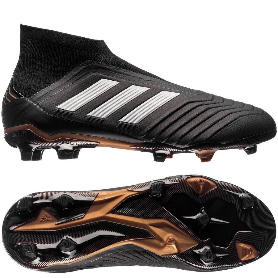 cc7d00c42d15 adidas Predator 18+ FG AG Skystalker - Core Black Footwear White Metallic  Gold Kids