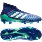 adidas Predator 18+ FG/AG Deadly Strike - Bleu/Vert/Vert Enfant