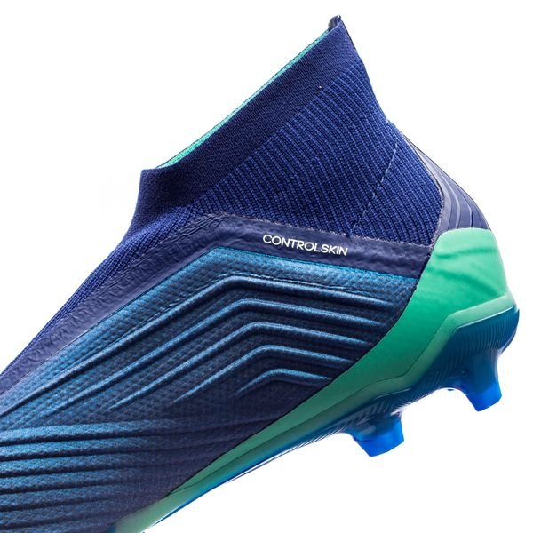 Adidas Predator 18+ Fg / Ag Grève Mortelle - Enfants Bleu / Vert / Vert u0450