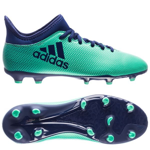 be0974338 adidas X 17.3 FG AG Deadly Strike - Aero Green Unity Ink Hi-Res ...