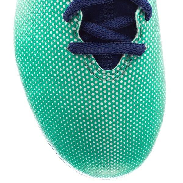 Adidas X 17,3 Fg / Ag Grève Mortelle - Enfants Vert / Bleu / Vert