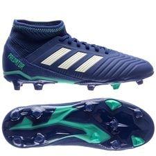 adidas Predator 18.3 FG/AG Deadly Strike - Blauw/Groen/Groen Kinderen
