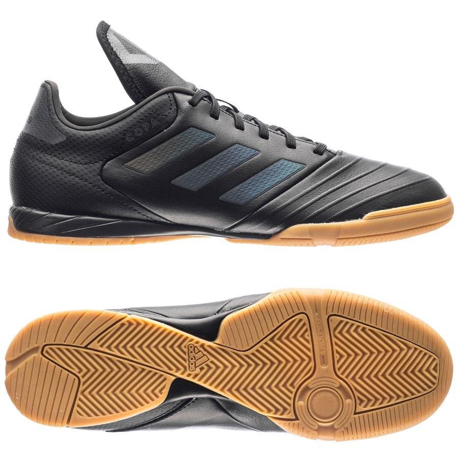 adidas PerformanceCOPA TANGO 18.3 IN - Indoor football boots - core black/utility black eV5tPdL79k