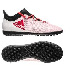 adidas X Tango 17.3 TF Cold Blooded - Wit/Rood/Zwart Kinderen