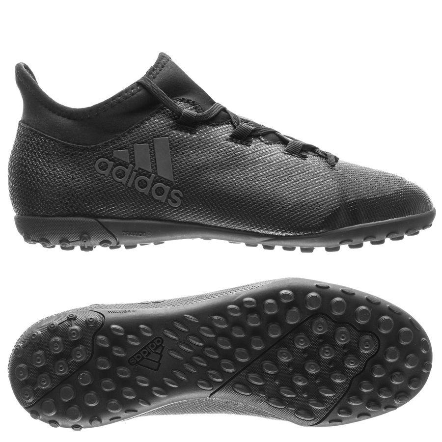 Adidas X 17,3 Fg / Ag Crawler Nite - Enfants Noirs