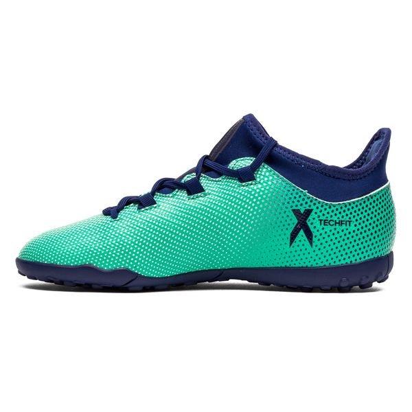 Adidas Tango X 17,3 Tf Coup Mortel - Enfants Vert / Bleu / Vert