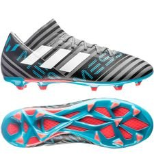 Image of   adidas Nemeziz Messi 17.3 FG/AG Cold Blooded - Grå/Hvid/Sort