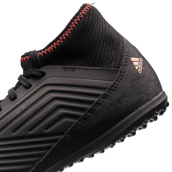adidas Predator Tango 18.3 TF Skystalker - Schwarz/Weiß/Rot Kinder URVA4zak