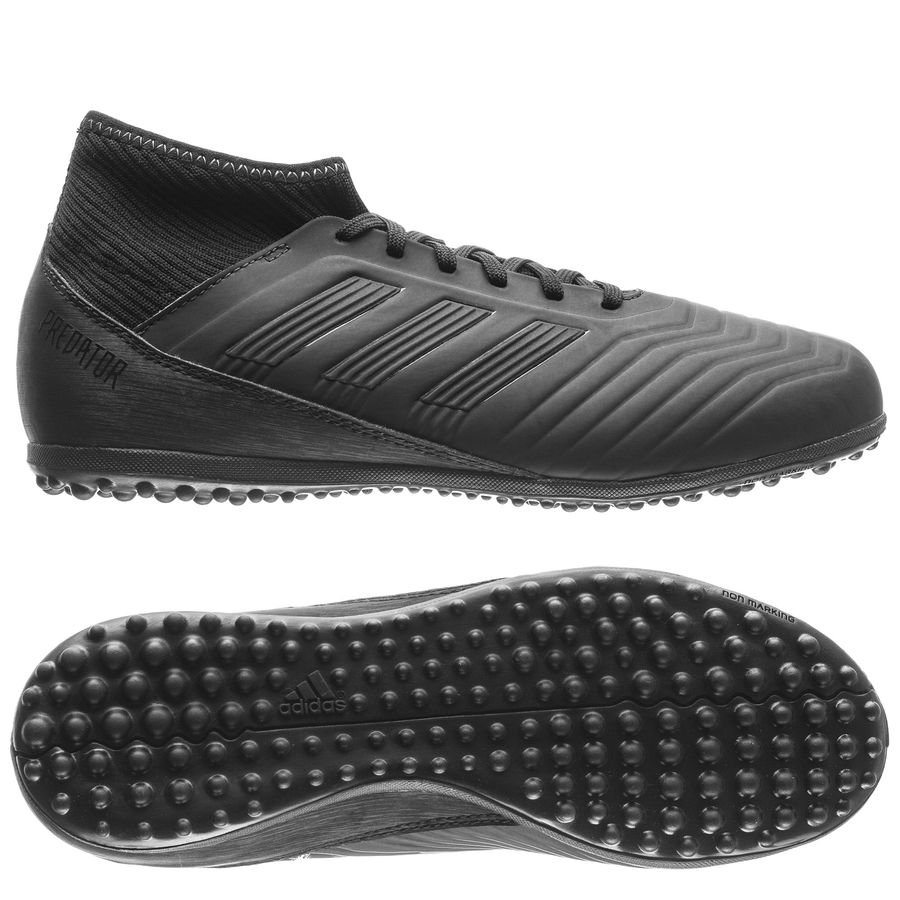 8c23a2456ea2 ... adidas predator tango 18.3 tf nite crawler sort grå børn fodboldstøvler