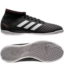 adidas predator tango 18.3 in skystalker - core black/footwear white/solar red kids - indoor shoes