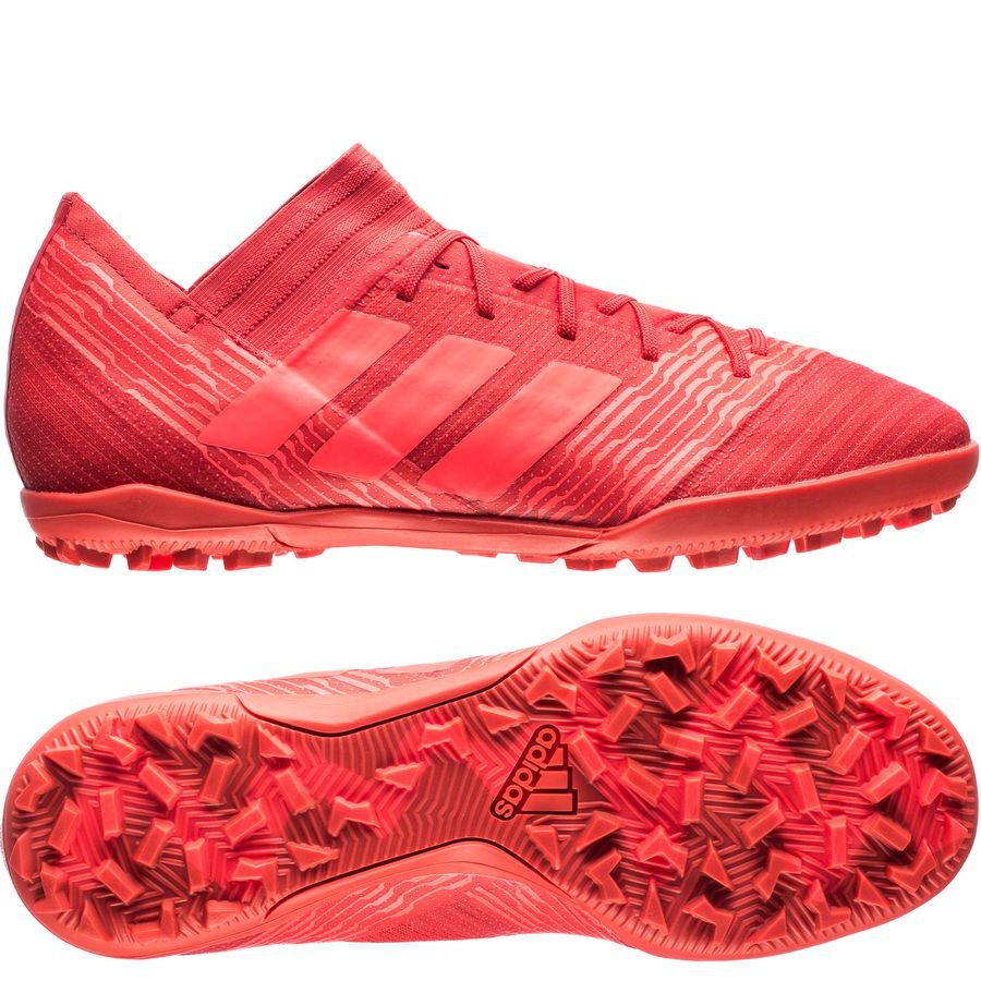 uk availability dab30 8a078 adidas nemeziz tango 17.3 tf cold blooded - real coral - football boots ...