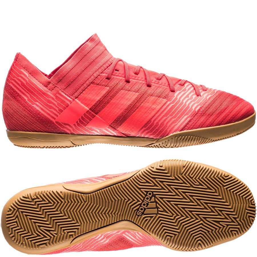 e37ac8719592 adidas nemeziz tango 17.3 in cold blooded - real coral - indoor shoes ...