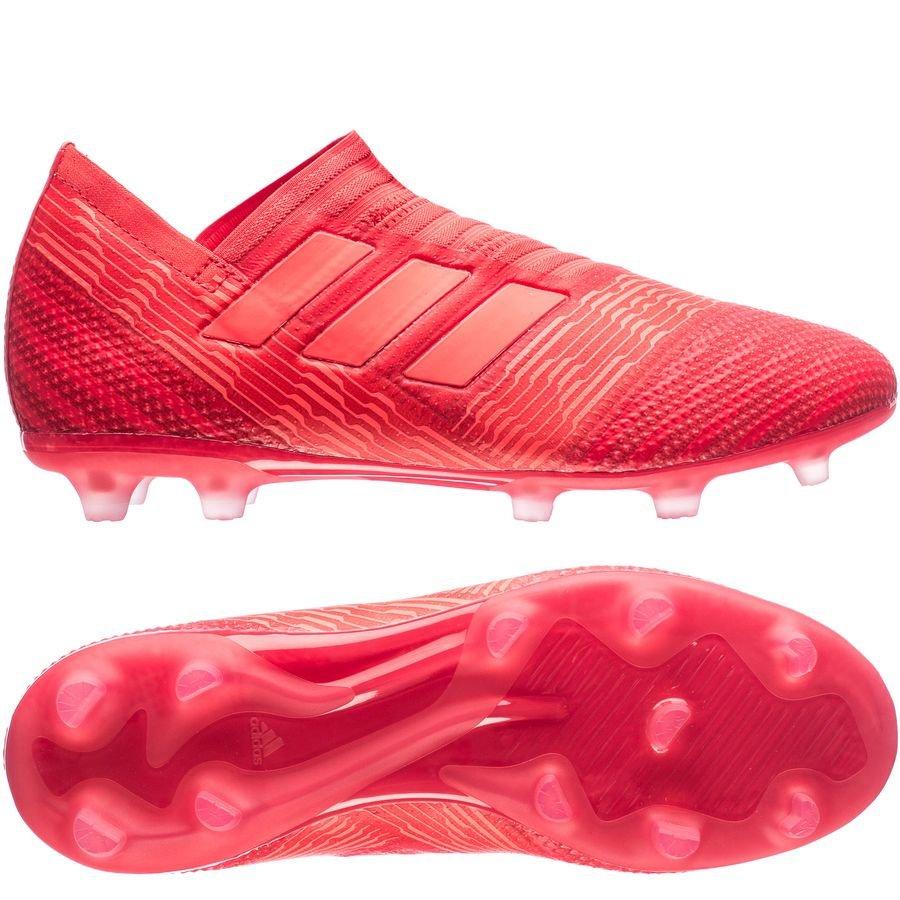 adidas Nemeziz 17+ Rød Græs (FG)