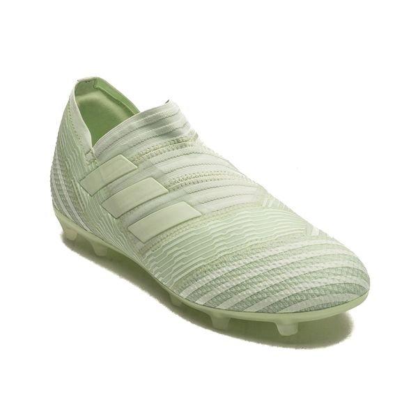 Adidas Nemeziz 17+ Fg / Ag Grève Mortelle - Vert / Vert C1ST0