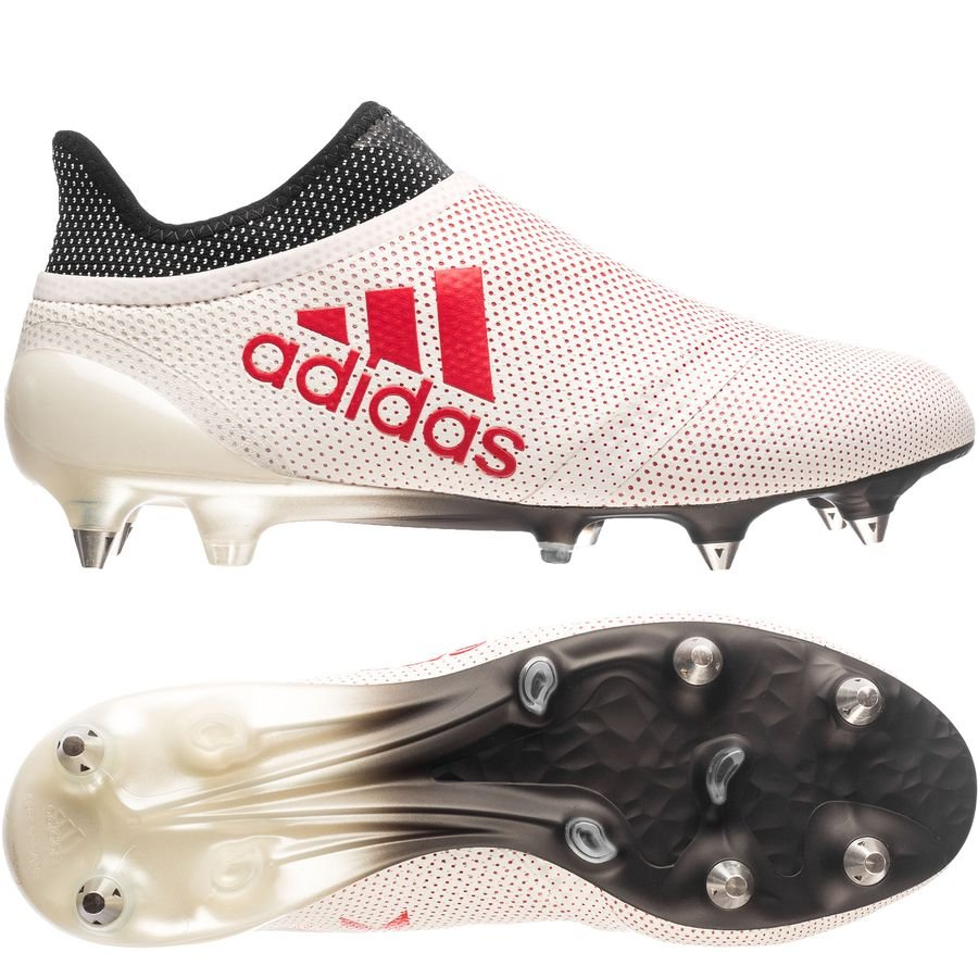 reputable site 04806 58cdf adidas X 17+ SG Cold Blooded - Footwear White Real Coral Core Black    www.unisportstore.com