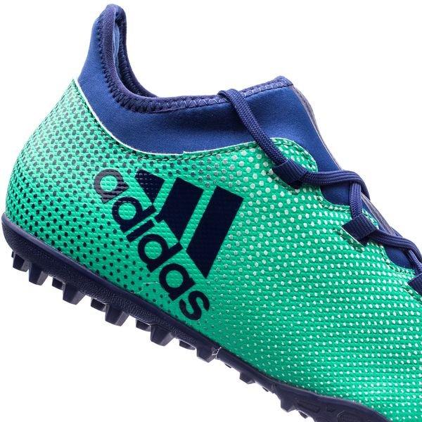 Adidas Tango X 17,3 Tf Coup Mortel - Vert / Bleu / Vert