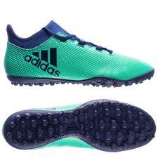 adidas x tango 17.3 tf deadly strike - hi-res green/unity ink/aero green - football boots