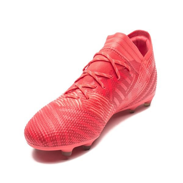 a368952e0 adidas Nemeziz 17.1 FG/AG Cold Blooded - Real Coral Kids | www ...