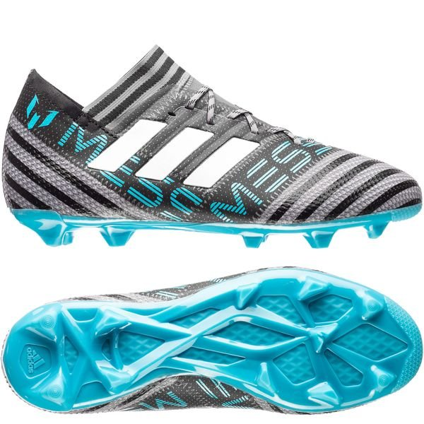 wholesale dealer 5fcb0 e4948 adidas Nemeziz Messi 17.1 FG AG Cold Blooded - Grå Vit Svart Barn