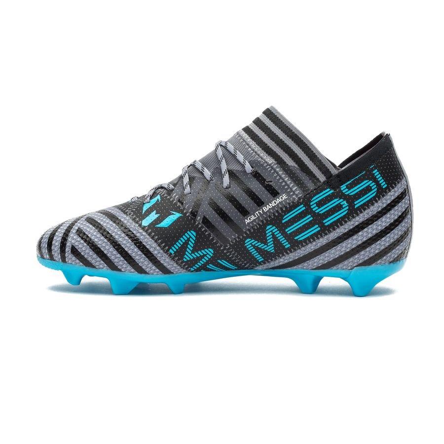 adidas nemeziz messi 17.1 fg ag cold blooded - grey footwear white core 6de136071