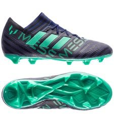 adidas nemeziz messi 17.1 fg/ag deadly strike - unity ink/hi-res green/core black kids - football boots
