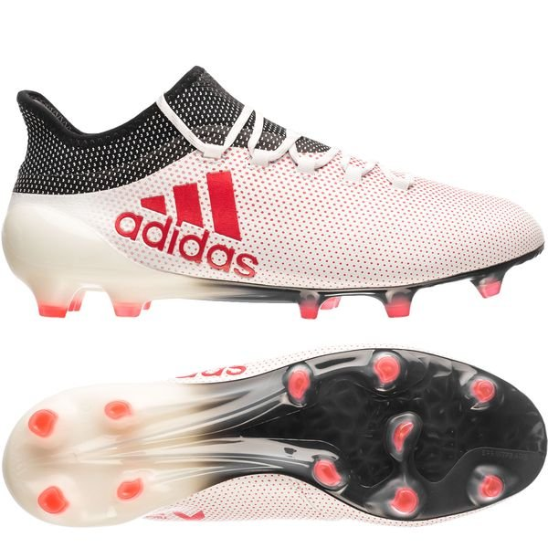 detailed look b7ded 95650 adidas X 17.1 FG/AG Cold Blooded - Footwear White/Real Coral ...