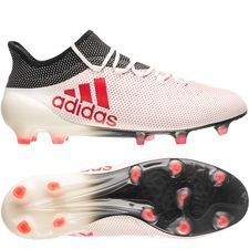 adidas X 17.1 FG/AG Cold Blooded - Wit/Rood/Zwart