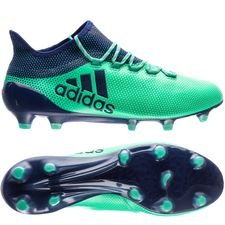 adidas x 17.1 fg/ag deadly strike - aero green/unity ink/hi-res green - football boots