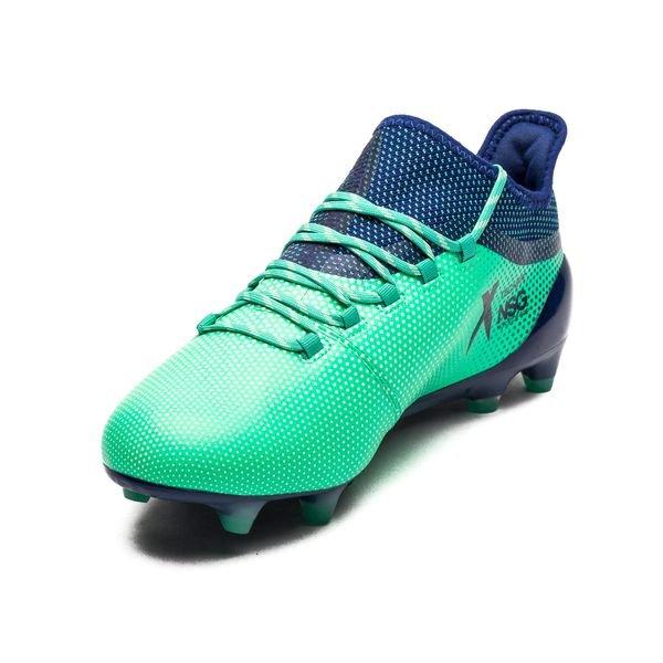 adidas X 17.1 FG/AG Deadly Strike - Aero Green/Unity Ink/Hi-Res ...